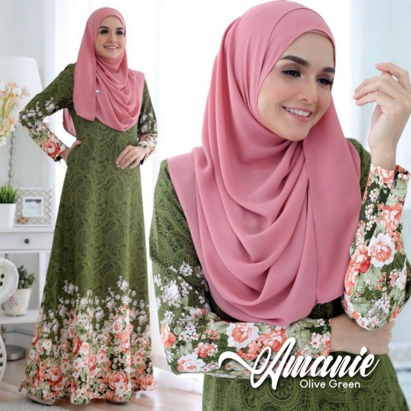 DS10 05 Amanie - Olive Green