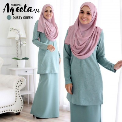 DS11 12 Aqeela - Dusty Green