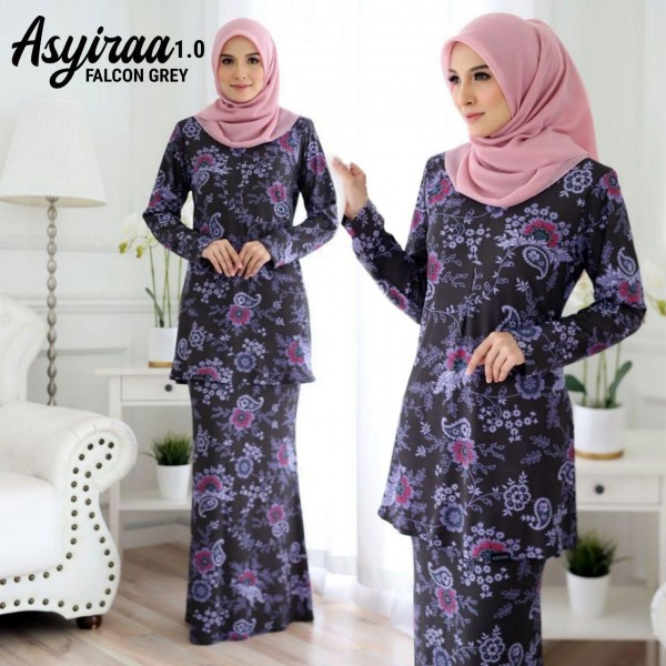 DS15 05 Asyiraa - Falcon Grey