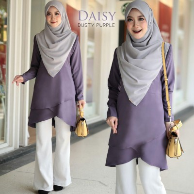 HD01 11 Daisy - Dusty Purple