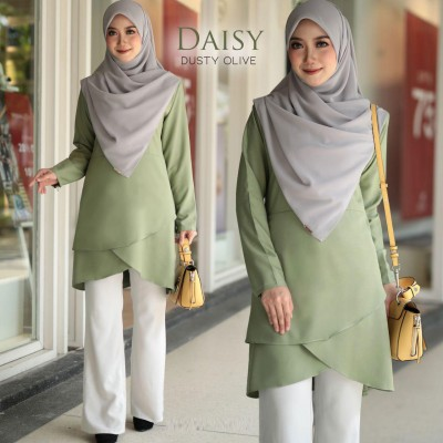 HD01 12 Daisy - Dusty Olive