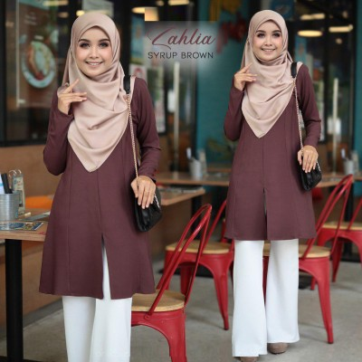 MS13 04 Zahlia- Syrup Brown