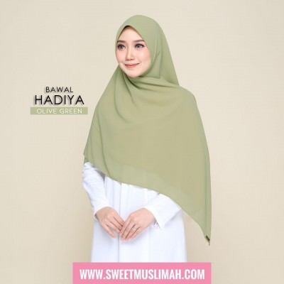 MS19 30 Hadiya - Olive Green