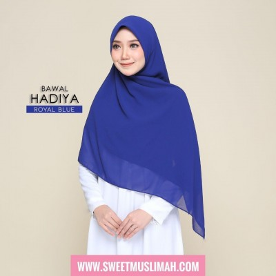 MS19 36 Hadiya - Royal Blue