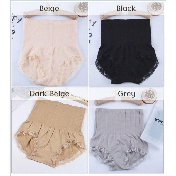 SH24 01 - Panties - HighWaist(4pcs) - FreeSaiz