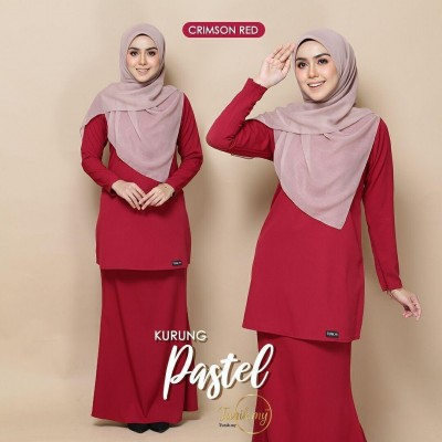 TN01 02 Pastel - Crimson Red